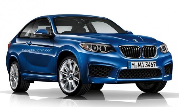 BMW X2 Front Theo