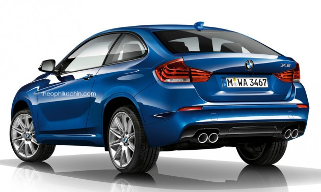 bmw x2 confirmed 39 coupe 39 version of new fwd x1. Black Bedroom Furniture Sets. Home Design Ideas