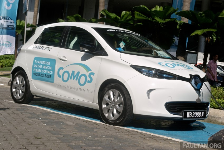 COMOS EV car-sharing service launched: 10 locations in Klang Valley, 1st year membership promo at RM50 Image #344762