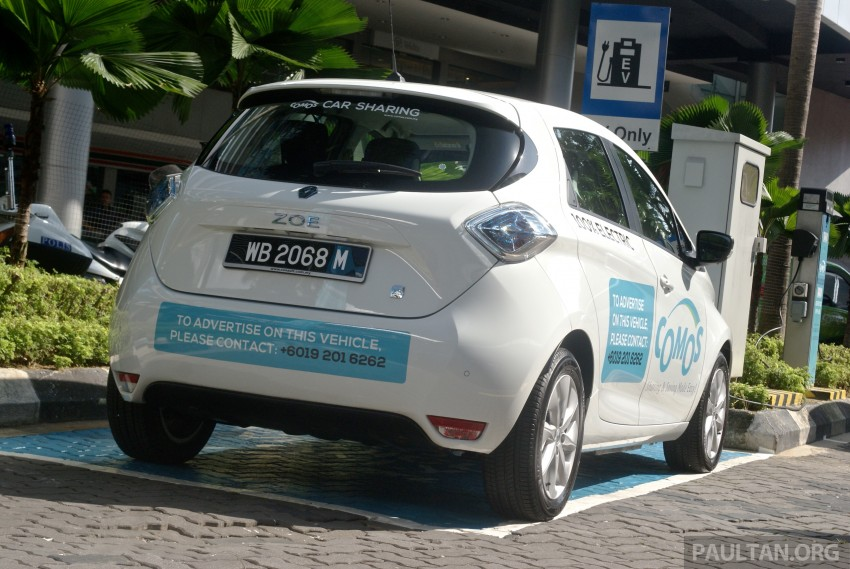 COMOS EV car-sharing service launched: 10 locations in Klang Valley, 1st year membership promo at RM50 Image #344763