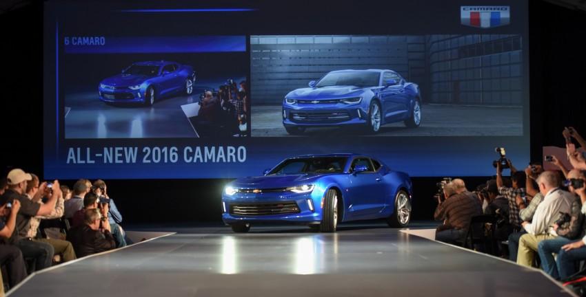 2016 Chevrolet Camaro – sixth-gen pony car debuts Image #340136