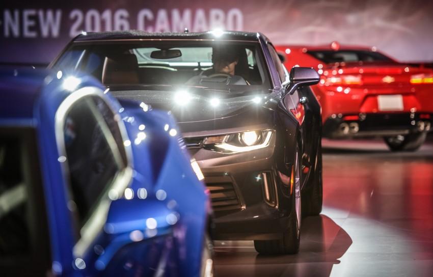 2016 Chevrolet Camaro – sixth-gen pony car debuts Image #340137