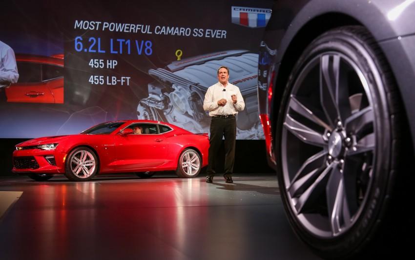 2016 Chevrolet Camaro – sixth-gen pony car debuts Image #340113