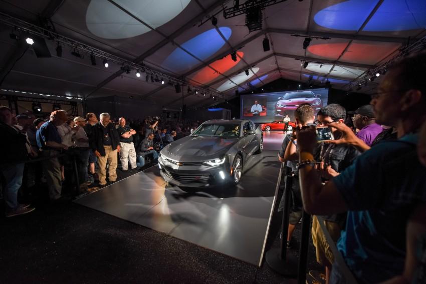 2016 Chevrolet Camaro – sixth-gen pony car debuts Image #340141