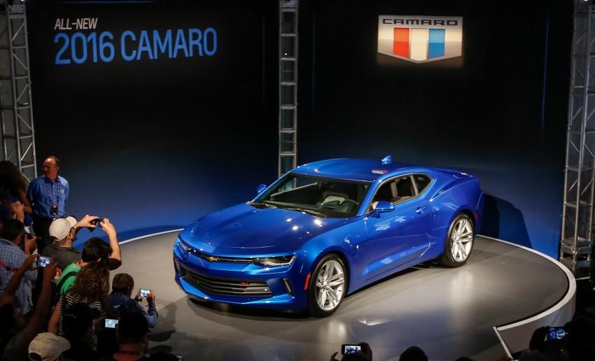 2016 Chevrolet Camaro – sixth-gen pony car debuts Image #340143