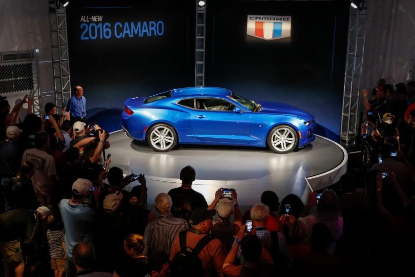 2016 Chevrolet Camaro – sixth-gen pony car debuts Image #340139