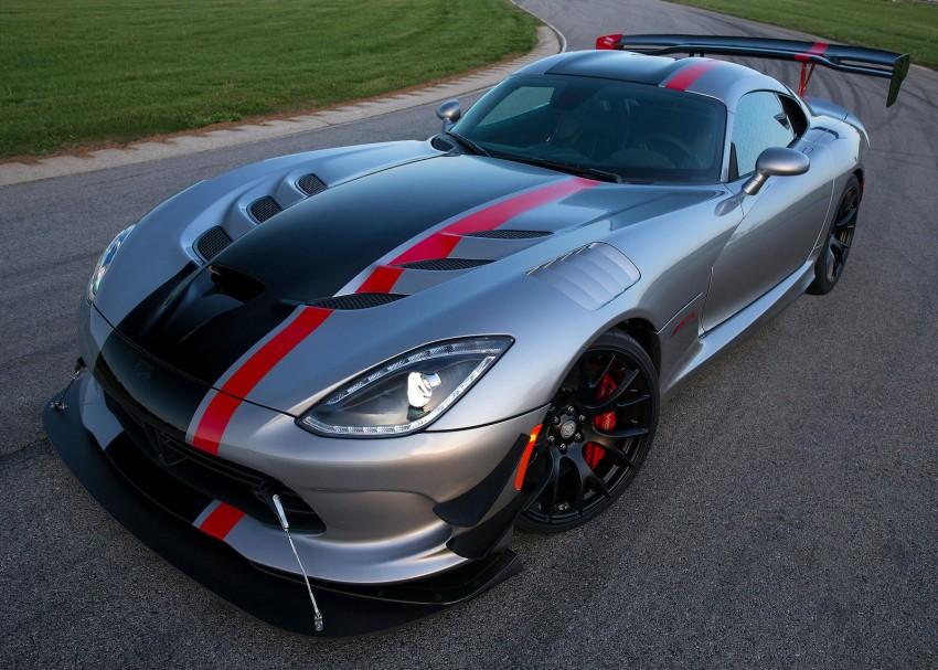 2016 Dodge Viper ACR – fastest street-legal Viper ever Image #337589