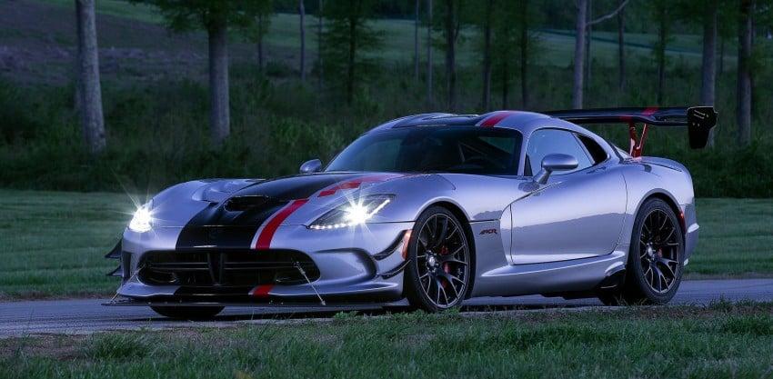 2016 Dodge Viper ACR – fastest street-legal Viper ever Image #337595