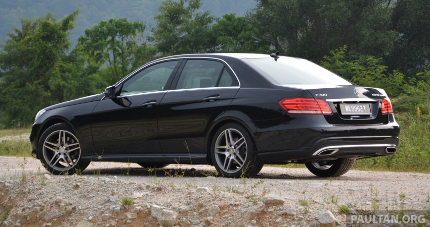 DRIVEN: W212 Mercedes-Benz E 300 BlueTEC Hybrid – 1,500 km from KL to Bangkok on a single tank of diesel Image #334781