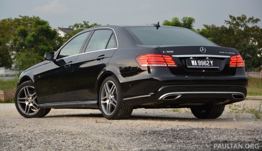 DRIVEN: W212 Mercedes-Benz E 300 BlueTEC Hybrid – 1,500 km from KL to Bangkok on a single tank of diesel Image #334786
