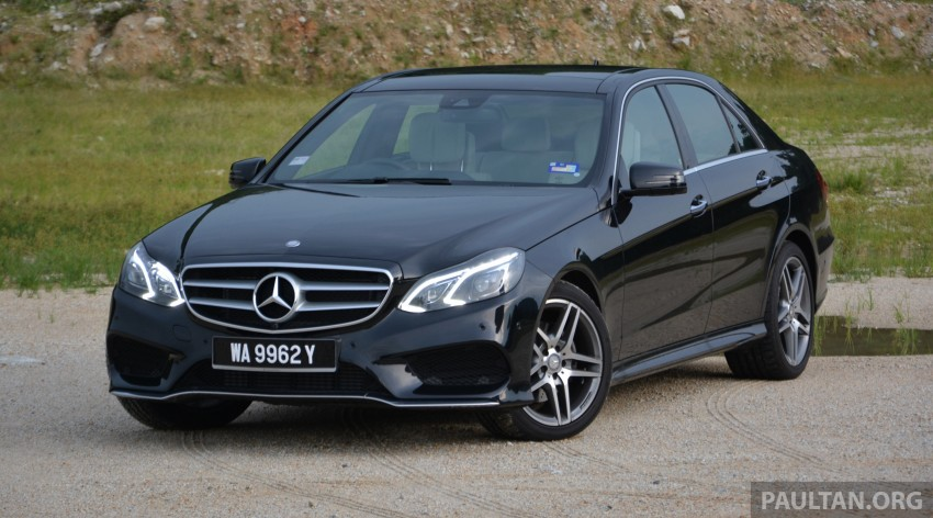DRIVEN: W212 Mercedes-Benz E 300 BlueTEC Hybrid – 1,500 km from KL to Bangkok on a single tank of diesel Image #334787