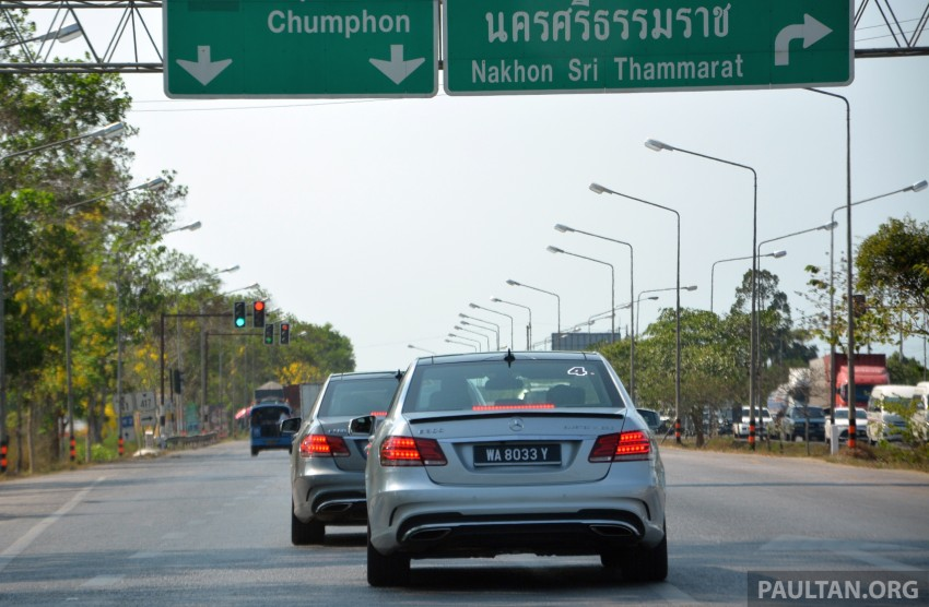 DRIVEN: W212 Mercedes-Benz E 300 BlueTEC Hybrid – 1,500 km from KL to Bangkok on a single tank of diesel Image #334840