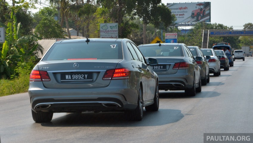 DRIVEN: W212 Mercedes-Benz E 300 BlueTEC Hybrid – 1,500 km from KL to Bangkok on a single tank of diesel Image #334841