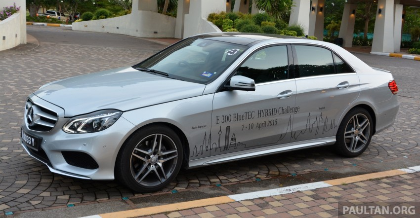 DRIVEN: W212 Mercedes-Benz E 300 BlueTEC Hybrid – 1,500 km from KL to Bangkok on a single tank of diesel Image #334824