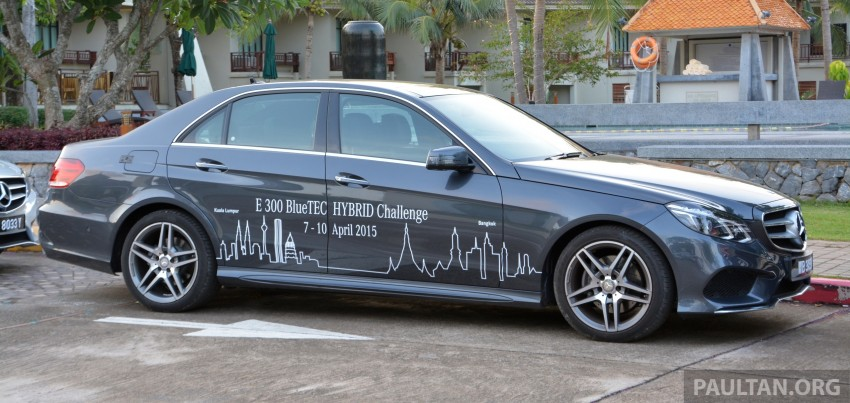 DRIVEN: W212 Mercedes-Benz E 300 BlueTEC Hybrid – 1,500 km from KL to Bangkok on a single tank of diesel Image #334827