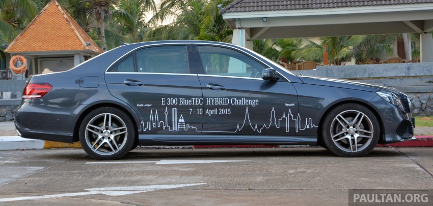 DRIVEN: W212 Mercedes-Benz E 300 BlueTEC Hybrid – 1,500 km from KL to Bangkok on a single tank of diesel Image #334828