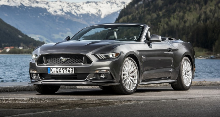 GALLERY: S550 Ford Mustang – European versions of the sixth-gen fastback and convertible break cover Image #336190