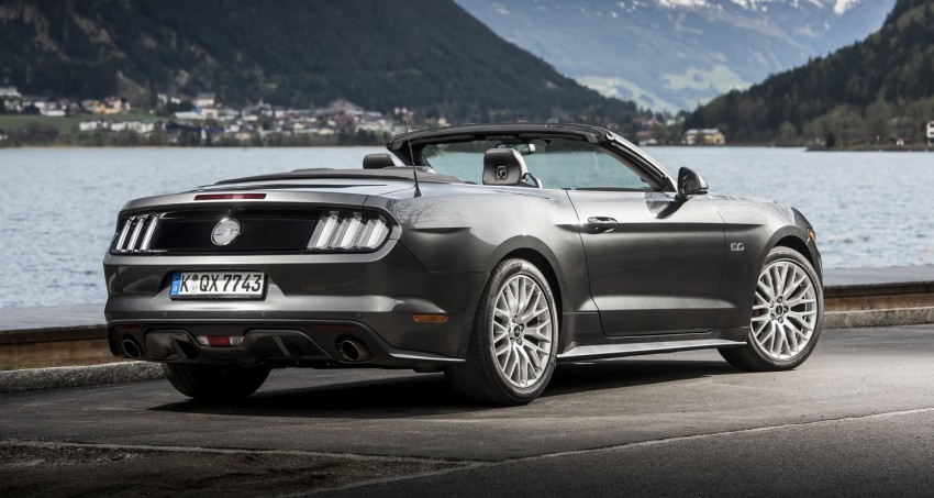 GALLERY: S550 Ford Mustang – European versions of the sixth-gen fastback and convertible break cover Image #336191