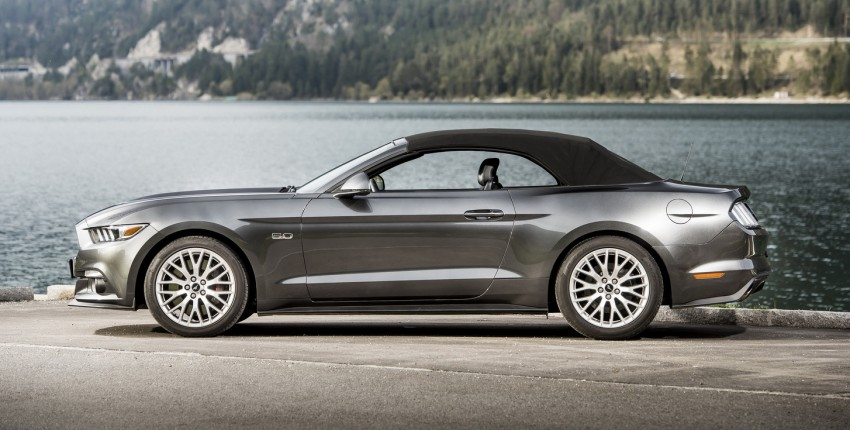GALLERY: S550 Ford Mustang – European versions of the sixth-gen fastback and convertible break cover Image #336192