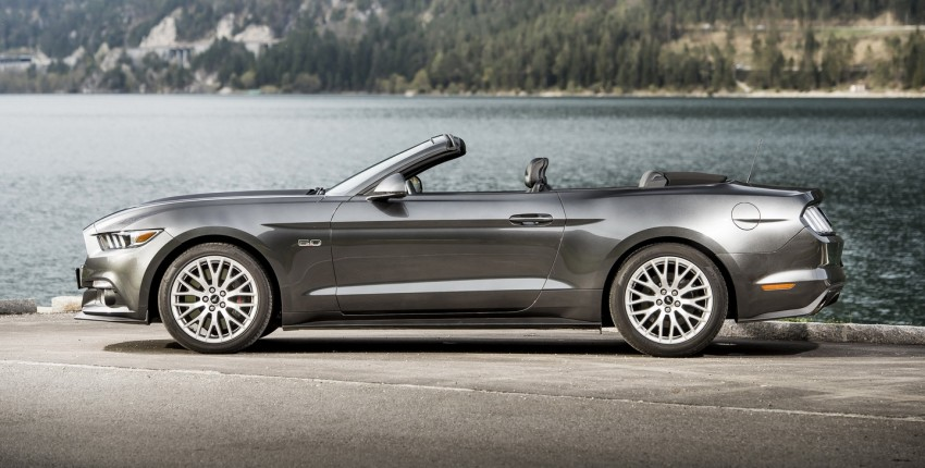 GALLERY: S550 Ford Mustang – European versions of the sixth-gen fastback and convertible break cover Image #336193