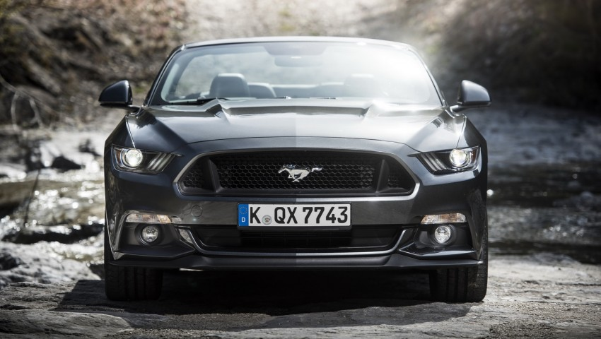 GALLERY: S550 Ford Mustang – European versions of the sixth-gen fastback and convertible break cover Image #336194
