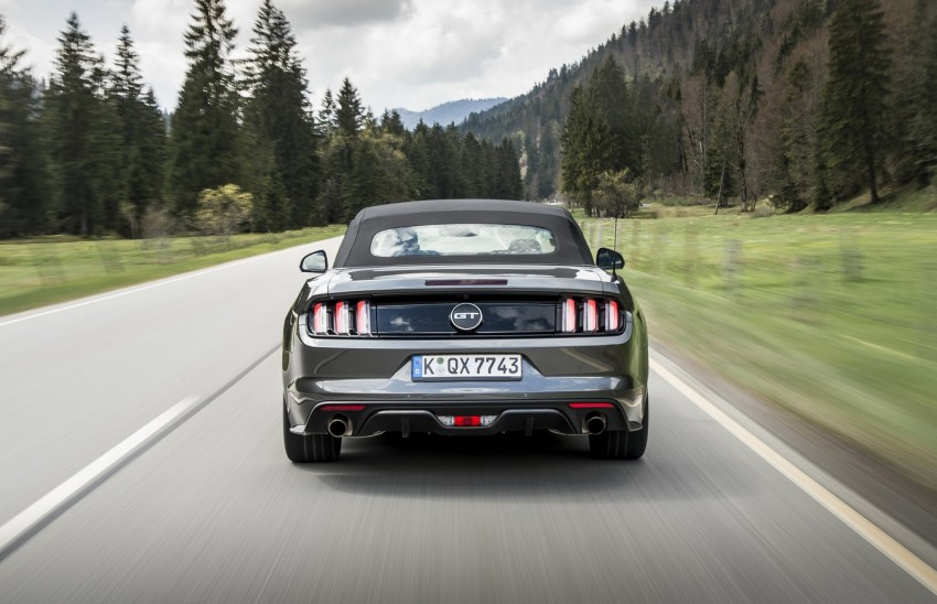 GALLERY: S550 Ford Mustang – European versions of the sixth-gen fastback and convertible break cover Image #336195