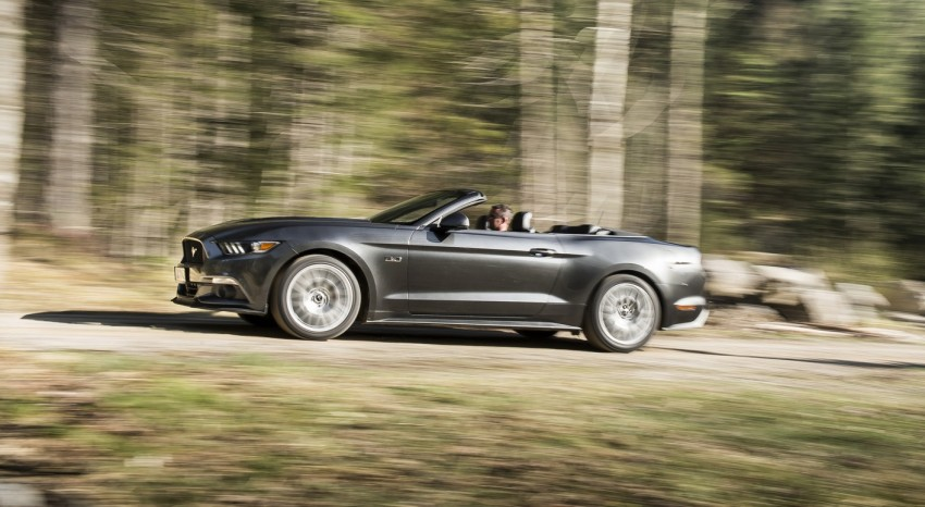 GALLERY: S550 Ford Mustang – European versions of the sixth-gen fastback and convertible break cover Image #336198