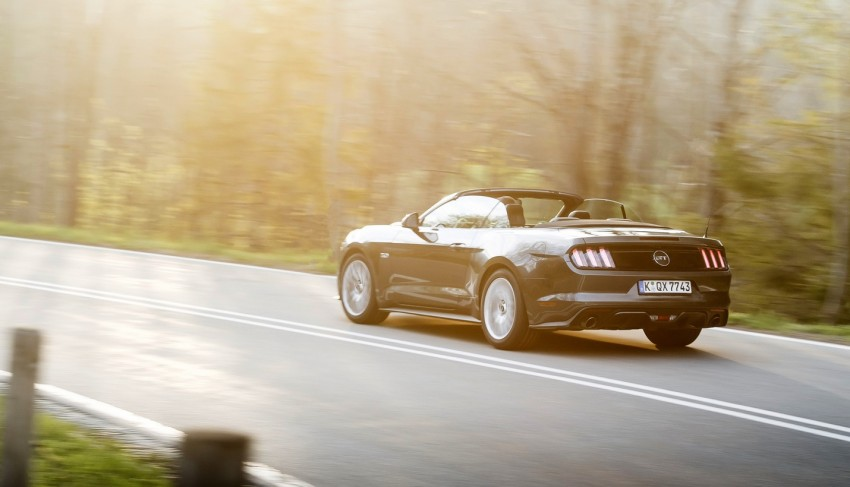 GALLERY: S550 Ford Mustang – European versions of the sixth-gen fastback and convertible break cover Image #336199