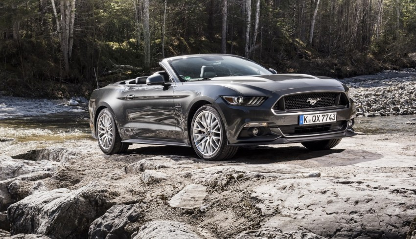 GALLERY: S550 Ford Mustang – European versions of the sixth-gen fastback and convertible break cover Image #336206