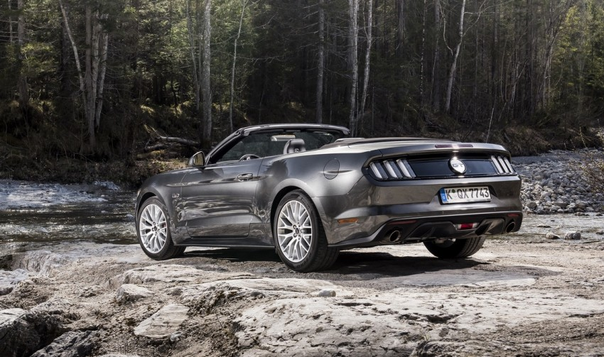 GALLERY: S550 Ford Mustang – European versions of the sixth-gen fastback and convertible break cover Image #336207