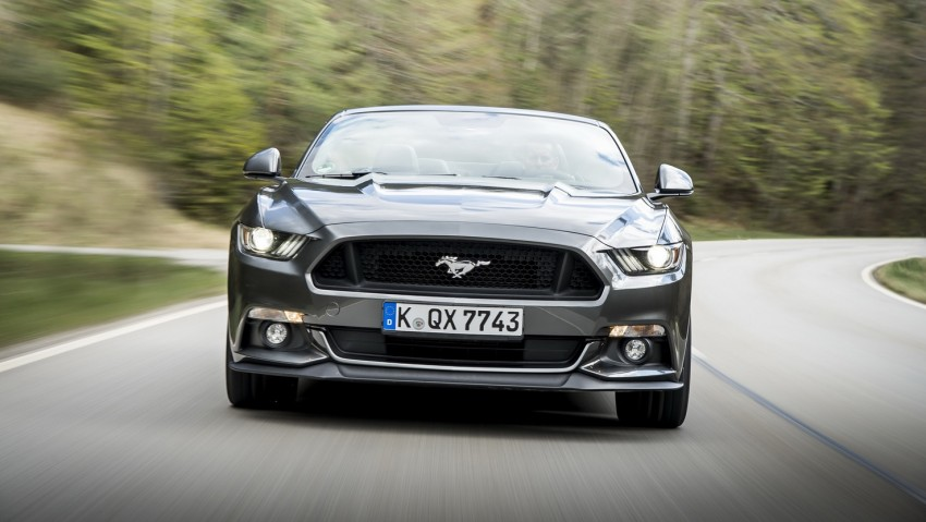 GALLERY: S550 Ford Mustang – European versions of the sixth-gen fastback and convertible break cover Image #336189