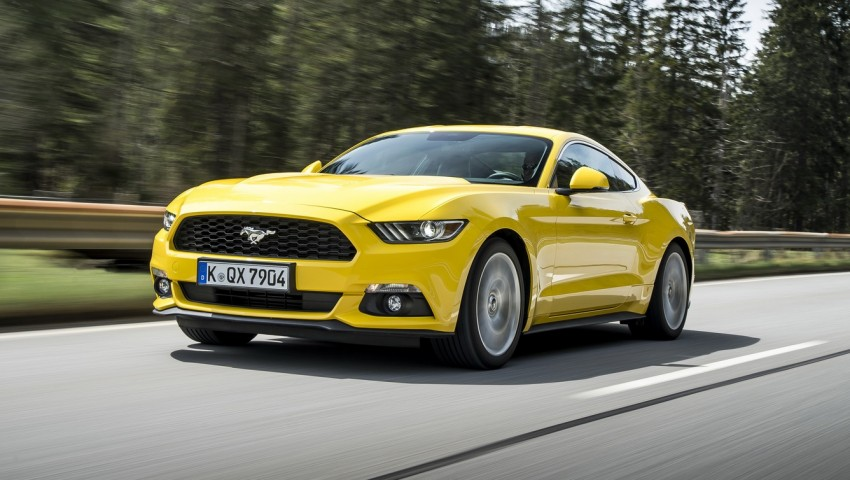 GALLERY: S550 Ford Mustang – European versions of the sixth-gen fastback and convertible break cover Image #336210