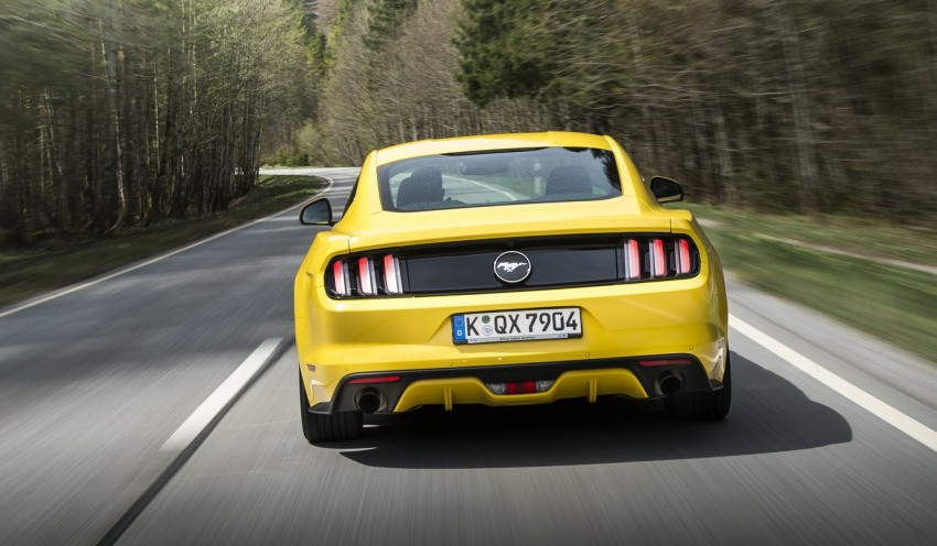 GALLERY: S550 Ford Mustang – European versions of the sixth-gen fastback and convertible break cover Image #336211