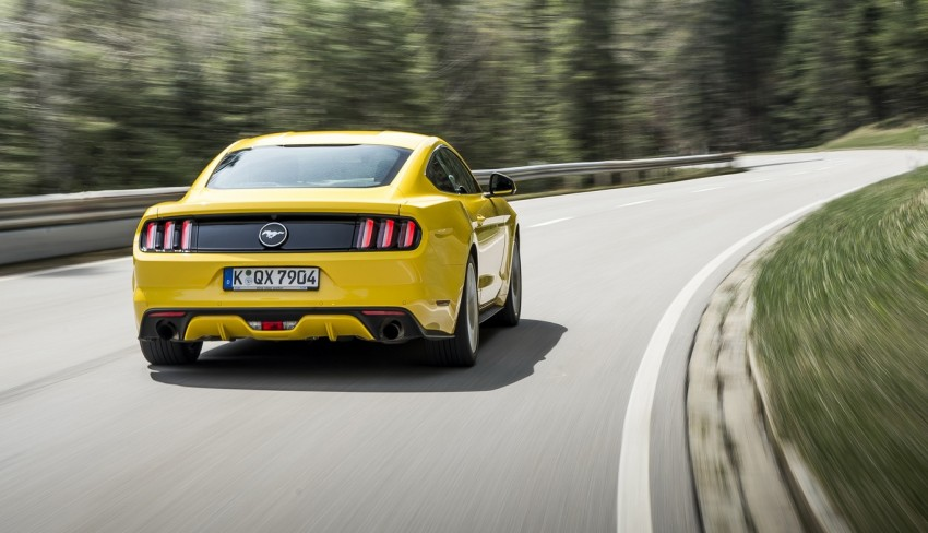GALLERY: S550 Ford Mustang – European versions of the sixth-gen fastback and convertible break cover Image #336212