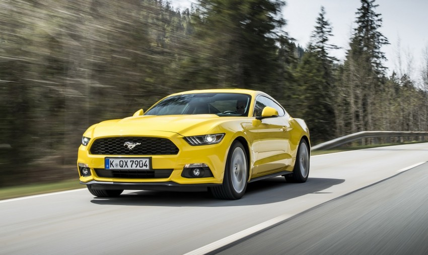 GALLERY: S550 Ford Mustang – European versions of the sixth-gen fastback and convertible break cover Image #336213