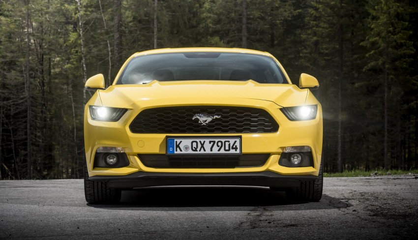 GALLERY: S550 Ford Mustang – European versions of the sixth-gen fastback and convertible break cover Image #336214