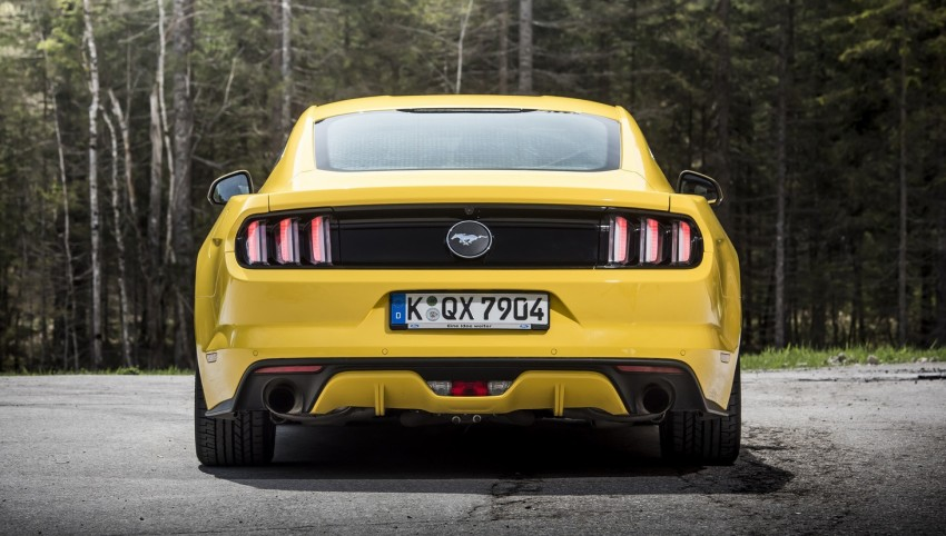 GALLERY: S550 Ford Mustang – European versions of the sixth-gen fastback and convertible break cover Image #336215
