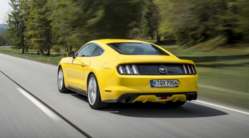 GALLERY: S550 Ford Mustang – European versions of the sixth-gen fastback and convertible break cover Image #336216