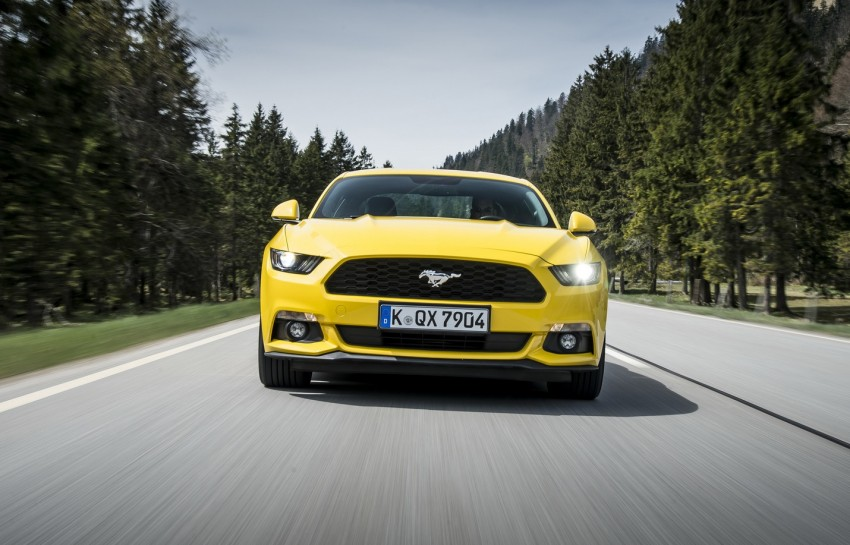 GALLERY: S550 Ford Mustang – European versions of the sixth-gen fastback and convertible break cover Image #336218