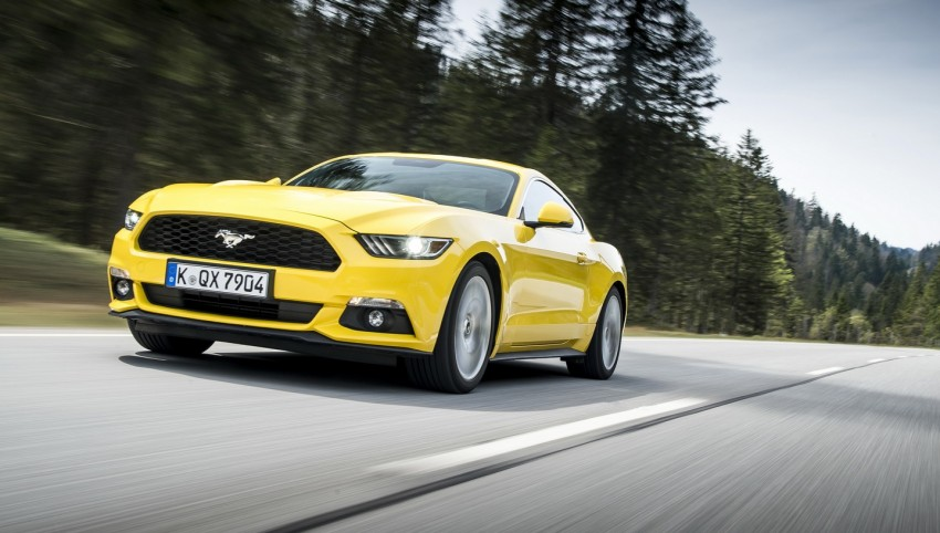 GALLERY: S550 Ford Mustang – European versions of the sixth-gen fastback and convertible break cover Image #336219