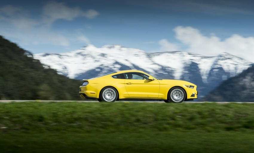 GALLERY: S550 Ford Mustang – European versions of the sixth-gen fastback and convertible break cover Image #336222