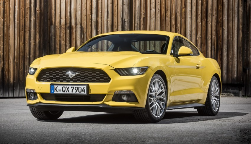GALLERY: S550 Ford Mustang – European versions of the sixth-gen fastback and convertible break cover Image #336230