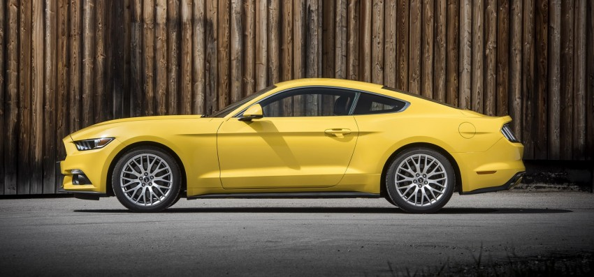 GALLERY: S550 Ford Mustang – European versions of the sixth-gen fastback and convertible break cover Image #336231