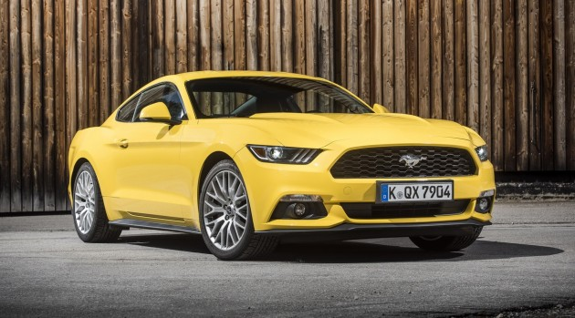 Ford Mustang Fastback Euro 18