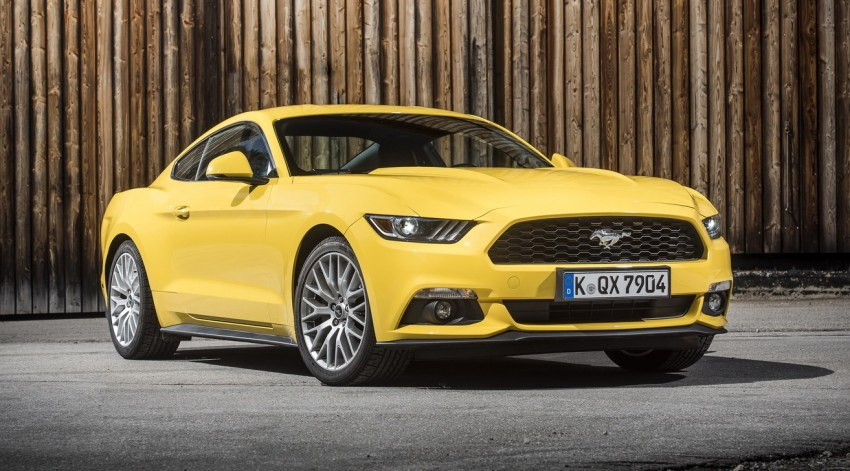 GALLERY: S550 Ford Mustang – European versions of the sixth-gen fastback and convertible break cover Image #336233