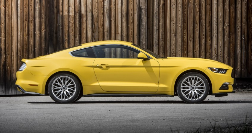 GALLERY: S550 Ford Mustang – European versions of the sixth-gen fastback and convertible break cover Image #336234