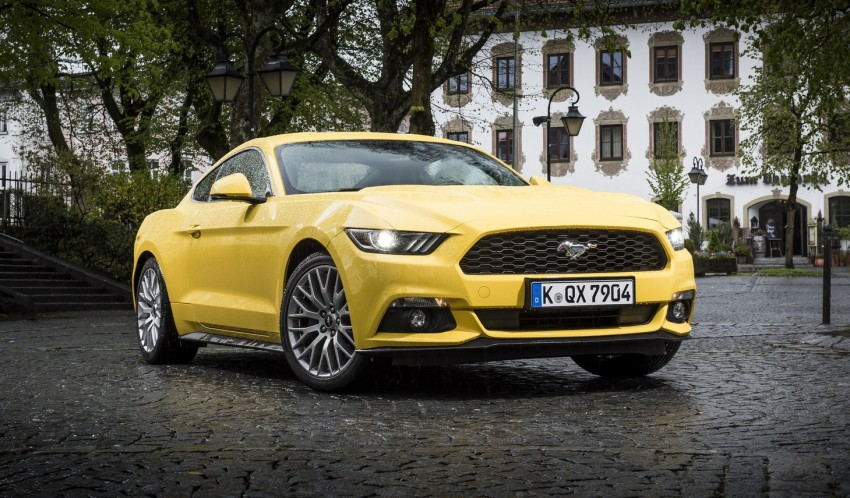 GALLERY: S550 Ford Mustang – European versions of the sixth-gen fastback and convertible break cover Image #336209