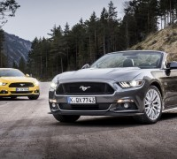 Ford Mustang Fastback and Convertible Euro