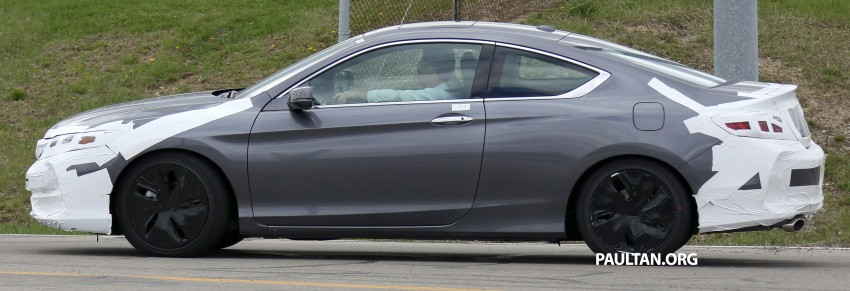 SPIED: 2016 Honda Accord Coupe wears little camo Image #336318