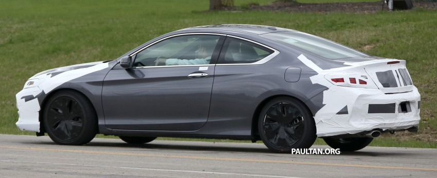 SPIED: 2016 Honda Accord Coupe wears little camo Image #336317